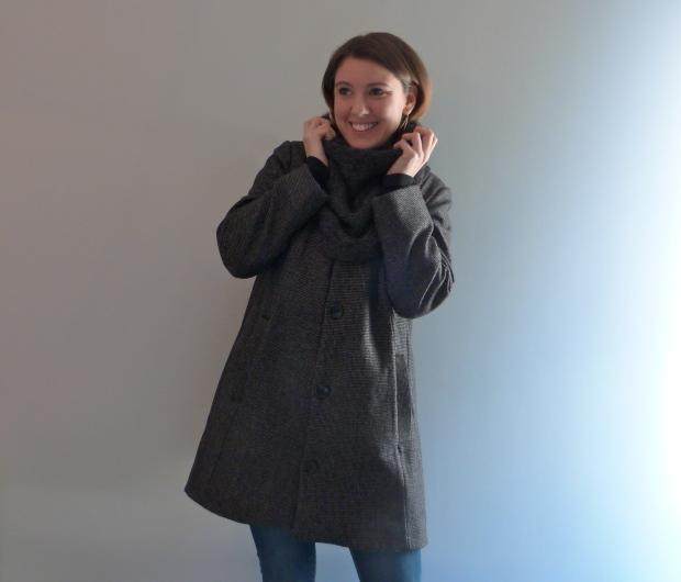 Manteau Ernest - République du chiffon - Trendy châle - Auguste & Septembre