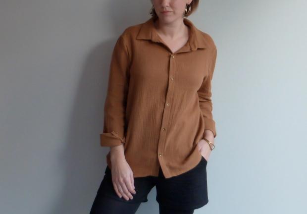 Chemise Hedwige - République du chiffon - Auguste & Septembre