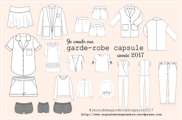 Garde-robe capsule 2017 - Auguste & Septembre